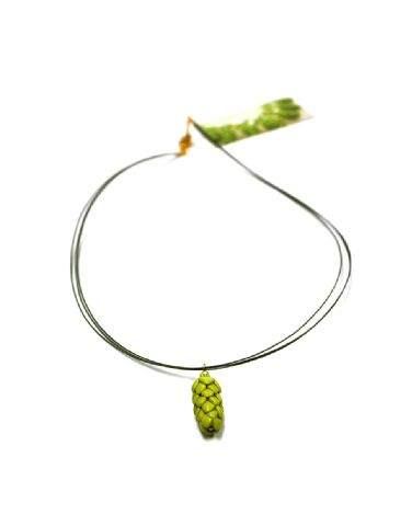Hop Necklace with Bling (Nylon-coated Beading Wire)