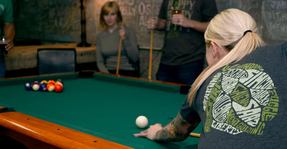 Hop Variety Shirt - Game Room - Pool Table
